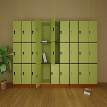 Compact Laminate Locker Storage Cabinet
