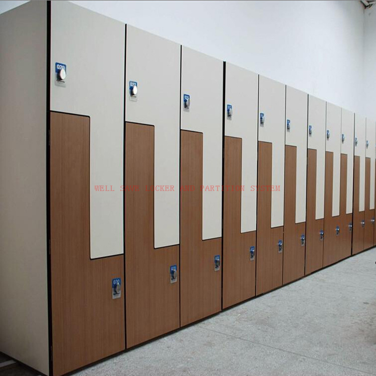 Compact Laminate Locker Office Cabinet